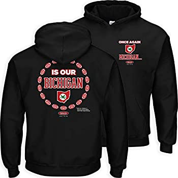 Smack Apparel Ohio State Football Fans Once Again Michigan is Our Bichigan 2020 Black LC Hoodie  Sm-5X   2020 Black LC Hoodie Large