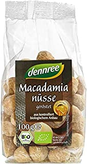 dennree Macadamianüsse mit Honig, geröstet 100 g - Bio
