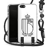 DeinDesign Coque Collier Compatible avec Apple iPhone 5s Coque avec Cordon Coque avec Cordon...