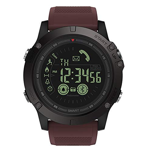 Clearlove77 VIBE3 Android IOS Bluetooth, 5ATM EIN Jahr Lang Standby-Smartwatch, HD-Farbdisplay,Rot