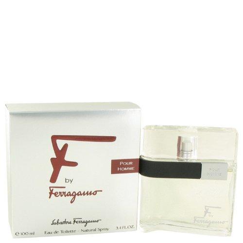 F BY FERRAGAMO by Salvatore Ferragamo EDT SPRAY 3.4 OZ for MEN