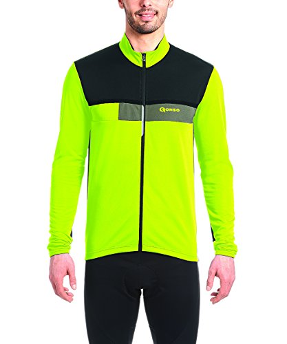 Gonso–Maillot de Caolín, otoño/Invierno, Hombre, Color Safety Yellow, tamaño Extra-Large