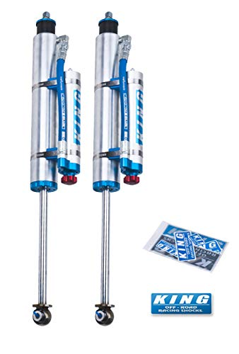 King Shocks 25001-223A Performance Shock Kit w/Adjusters 3-5in Lift Kits Performance Shock Kit