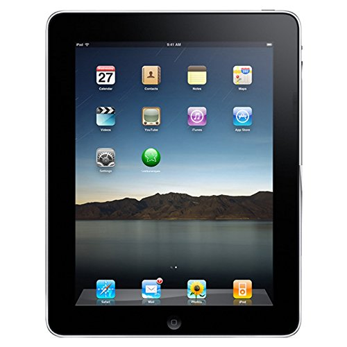 Apple iPad 4 9.7-Inch Tablet PC (Nero) A1460 Processore, 16 GB HDD, Mac OS 9.X) (Certificato Ristrutturato)