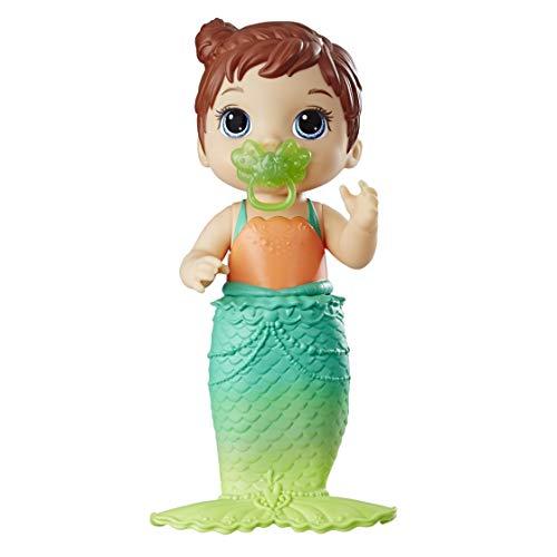 Baby Alive E5851ES1 BA Lil Mermaid BRN, Multicolour