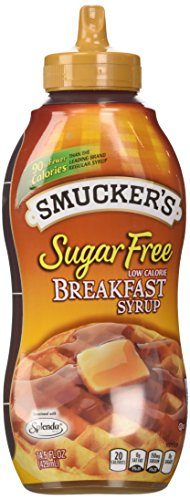 Smuckers Sugar Free Breakfast Syrup 145 Oz Pack of 2