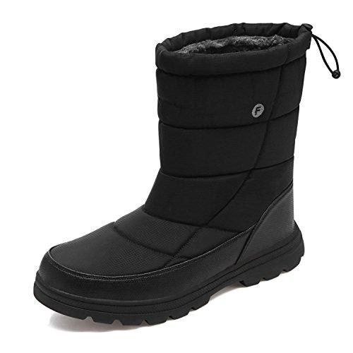 YIRUIYA Men's Winter Snow Boots