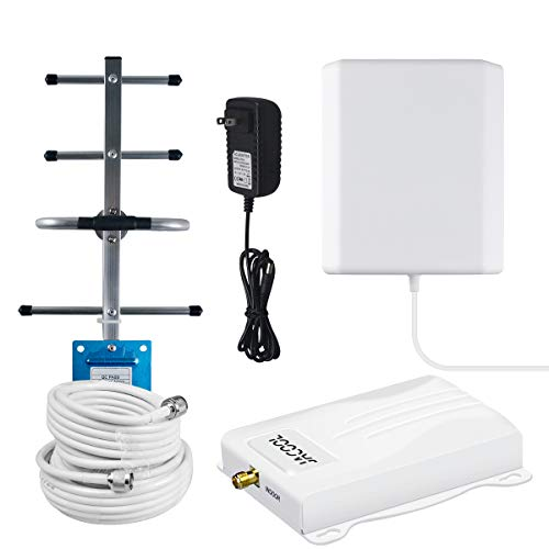 Verizon Cell Phone Signal Booster 4G LTE 700Mhz Band 13 Cell Signal Booster Verizon Cell Phone Booster Verizon Cellular Signal Repeater Amplifier Cell Extender for Home Antennas Kit Boost Voice+Data
