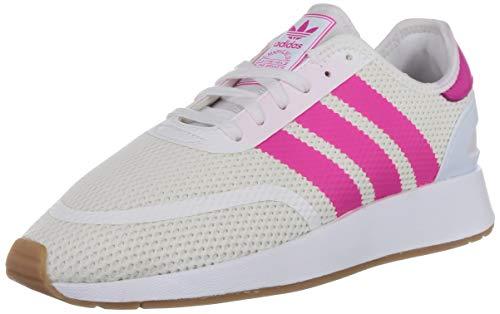 adidas N-5923 W, Zapatillas de Gimnasia para Mujer, Blanco (FTWR White/Shock Pink/Gum4 FTWR White/Shock Pink/Gum4), 37 1/3 EU