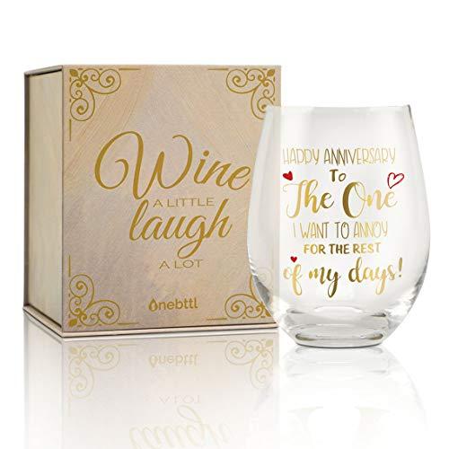 Onebttl Jubiläums Geschenke für Ehefrau vom Ehemann, Geschenke für Frauen, Valentinstagsgeschenke für sie, Geschenkideen zum Geburtstag der Ehefrau, Muttertagsgeschenke