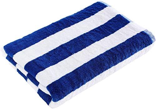 Indus textiel 100% Egyptisch katoen Cabana strepen grote strand zwembad handdoek