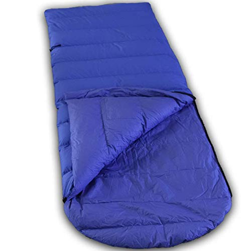 LOWLAND OUTDOOR Unisex Adult Ranger Comfort NC Down gevulde slaaptas, kobalt, 230 x 80 cm