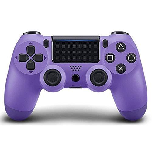 LiangDa Gamepad Contrôleur de Jeu Bluetooth Classique Gamepad sans Fil for Les Ordinateurs Portables et Les téléphones Manette De Jeu (Color : Purple, Size : 16.2x5.2x9.8cm)