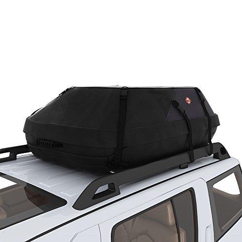 Sailnovo Rooftop Cargo Carrier Car Top Carrier Roof Bag,Water Resistant Waterproof Car & Van Soft Rooftop Travel Cargo Bag Box Storage Luggage Large