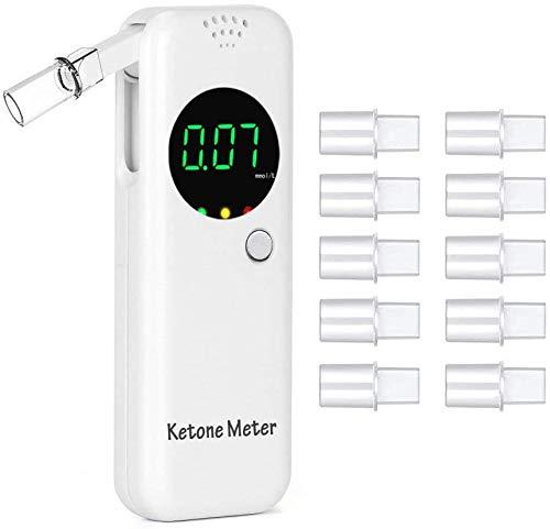 GDbow Ketone Breath Analyzer, Digital Ketone Meter for Ketosis Testing with People on Healthy Diet