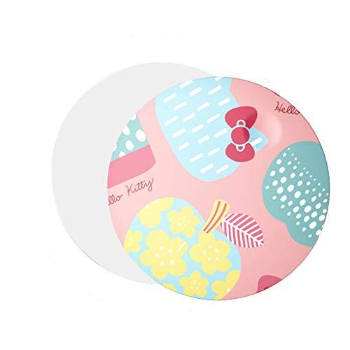 YYF Tragen LED Schminkspiegel Tragbares Licht mit kleinem Spiegel Led Schminkspiegel Mini-Fülllicht Schminkspiegel Kabellose Aufladung Einfach (Color : B)
