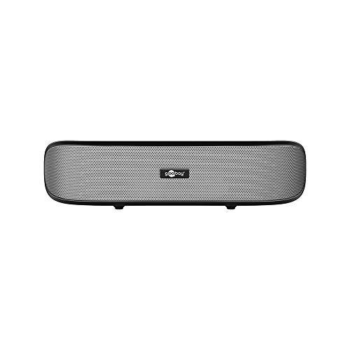 Goobay 95041 Barre de son de 6W, Haut-parleur stéréo pour PC