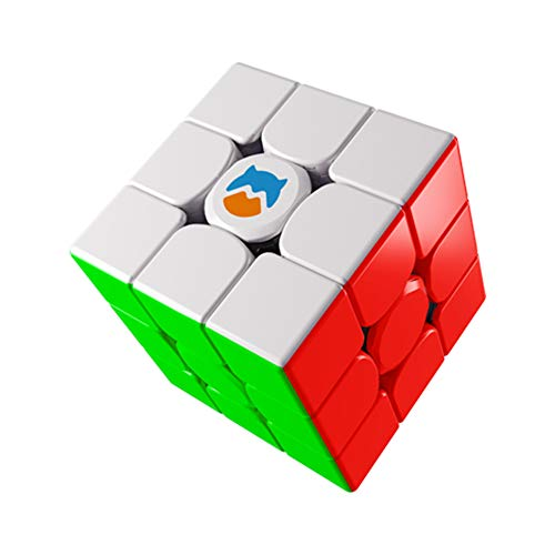 Monster Go Magnetic 3x3 Speed Cube, MG Cube Learning Series Puzzle Toy for Kids Beginners