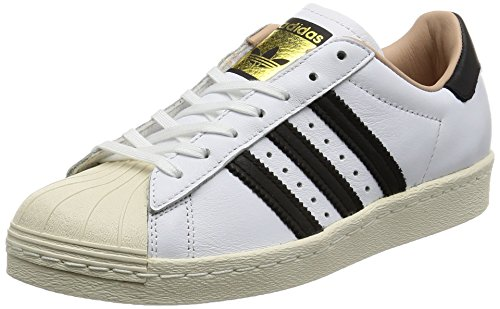 Adidas Superstar 80-by2957 Damessneaker, wit, maat 36 EU.