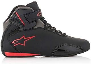Alpinestars Men's 251551813195 Shoe (Black/Grey/Red, Size 9.5)