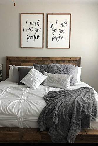 CELYCASY Bedroom Wall Decor
