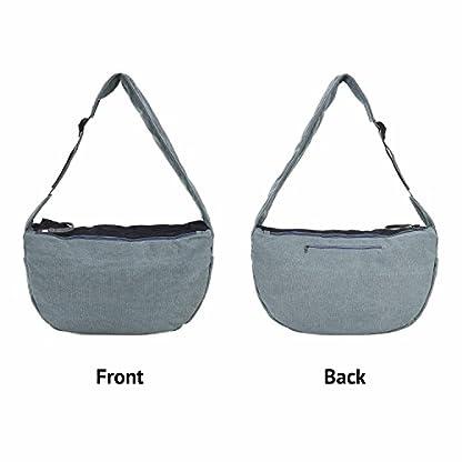 Maxmer Pet Sling Carrier, Dog Sling Bag Shoulder Carry Tote Handbag Dog Travel Carrier Bag for Cat Puppy Kitty Rabbit Bunny 4