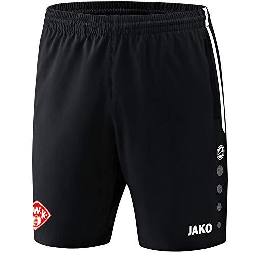 JAKO FC Würzburger Kickers Short Competition 2.0 2018/2019 schwarz schwarz, XXL