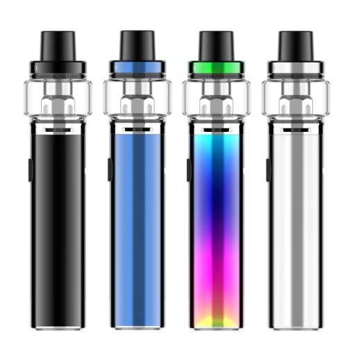 Vaporesso Sky Solo Plus Starter Kit, E Zigarette Starterset Elektronische Vape Mod Akku 3000mAh mit GT Meshed Coil 0.18ohm Verdampferköpfe- OhneNikotin Ohne Tabak(Schwarz)