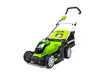 Greenworks 40V 17 inch Cordless Lawn Mower,Tool Only MO40B01