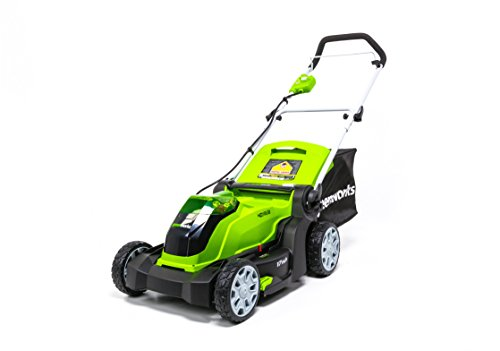 Greenworks 40V 17 inch Cordless Lawn Mower,Tool Only, MO40B01
