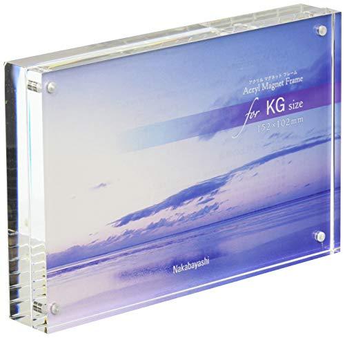 ナカバヤシ アクリルマグネットフレーム KG判 85438