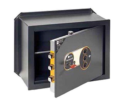 Casseforti Mottura a chiave + combinazione 11 2320: cm. P 20 x L 46 x H 36 - 3 catenacci