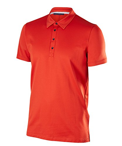 Falke 37843 Polo Homme, Rooibos, FR : L (Taille Fabricant : L)