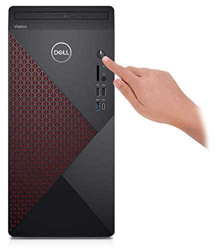 2021 Newest Dell Vostro 5000 Series 5890 Business Desktop, 10th Gen Intel Core i7-10700 8-Core Processor, 64GB RAM, 2TB SSD + 4TB HDD, DVD, HDMI, DisplayPort, WiFi, Windows 10 Pro