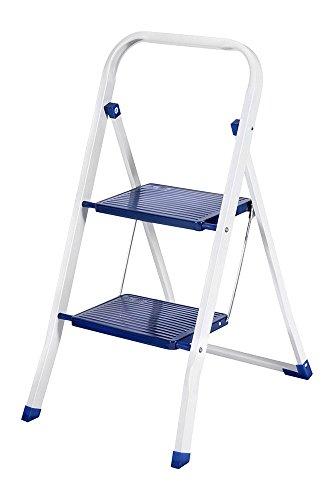 CASA SI Klapptritt ARCO 2 Stufen Stahl, blau