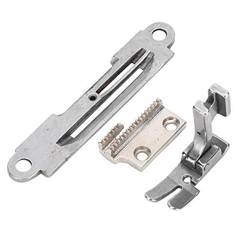 Fdit Accesorios para máquinas de Coser industriales, máquina de Coser portátil, Juego de Placas de Agujas, prensatelas para Juki/Zoje/Accesorios típicos 1/8 0,3 CM