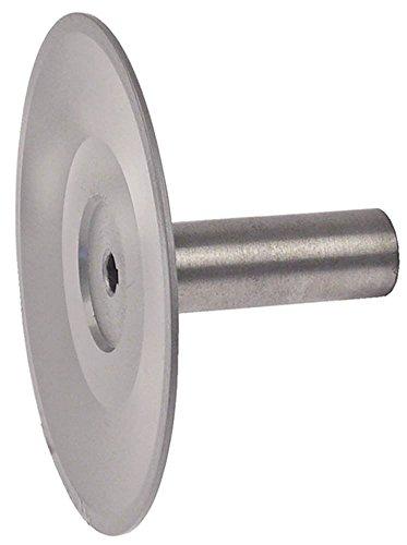 Öztiryakiler riemschijf voor planetaire mixer OM20G asopname 14 mm opname ø 33 mm rechts breedte 110 mm metaal 3 mm