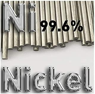 Nickel Plating Anode 8mm x 100mm high Purity Ni 99.6 Electrode Electroplating