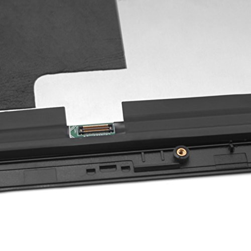 FTDLCD® 12 Zoll LED LCD Touch Screen Digitizer Display Bildschirm Assembly Ersatzteil mit Rahmen für Lenovo IdeaPad Miix 700-12ISK 80QL 2160x1440