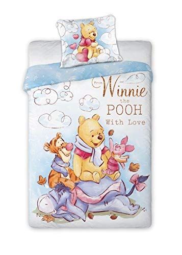 Winnie The Pooh 083 - Juego de cama infantil (140 x 200 cm)