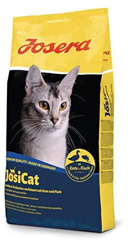 JosiCat Crispy Duck (1 x 10 kg) | Premium Trockenfutter für ausgewachsene Katzen | Katzenfutter | powered by JOSERA | 1er Pack