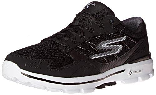 Skechers Go Walk 3 - Zapatillas deportivas para caminar de corte bajo, para hombre., color Negro, talla 40 EU