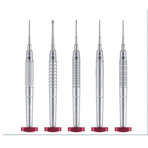 5 unids profesional destornillador de precisión reparación del teléfono móvil desmontar destornillador herramienta de reparación destornilladores conjunto