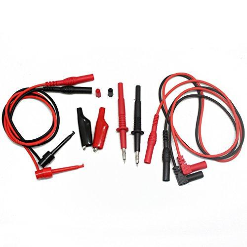 AIdetek Multimeter Prüfkabelsatz TL809 Elektronischer Prüfkabel zum Testen TLP1070