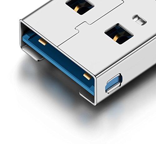 『Eximone 小型 USB 3.0 カードリーダー Micro USB USB 3.1 Type C 変換アダプター 変換 OTG Micro SD/SDXC/TF』のトップ画像