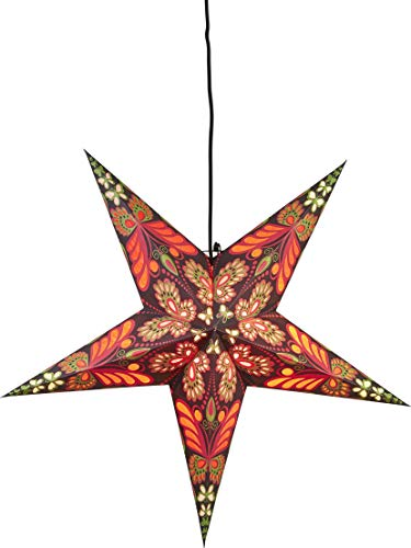 Star Blaze Papierstern, Papier, rot