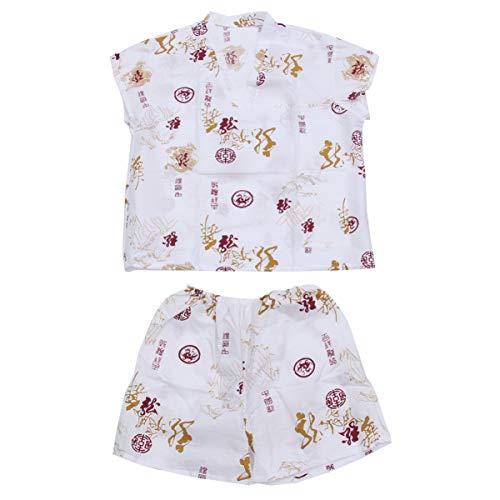 Artibetter 1 Juego de Túnicas Desechables de Estilo Japonés Khan Traje de Pijama de Vapor Saunas de Kimono Albornoces Servicio de Hotel Sudadera Ropa de Dormir para Mujeres Damas Niñas (Blanco)