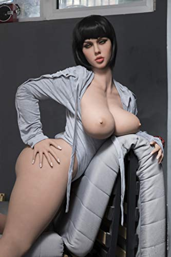 2. AILIJIA 163cm Sex Dolls with Big Ass Doggy Position Realistic Love Doll Adult Artificial Vagina Sex Toys for Men (Olivia)