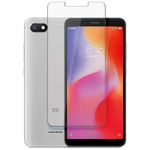 disGuard Protecteur d'écran [Crystal-Clear] Compatible avec Xiaomi Redmi 6A [2 Pièces] Limpide, Transparent, Invisible, Extrêmement résistant, Anti-Empreinte Digitale - Film Protecteur