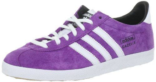 adidas Originals GAZELLE OG W V25019, Damen Sneaker, Pink (ULTRA PURPLE S12 / RUNNING WHITE FTW / BLACK 1), EU 38 (UK 5)